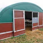 Plastic pannels farm buildings