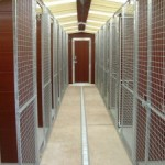 kennels made from plastic panels and planks